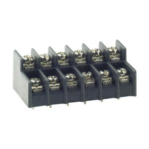 8.25mm pitch, 15A 300VAC, CBP110 Dual Level PCB Barrier Terminal Blocks