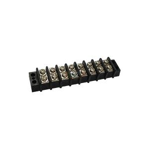 Double Row Terminal Blocks, 9.5mm pitch, 10A 300VAC